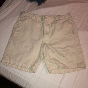 J Crew Cream Light White Stanton 31 waist shorts